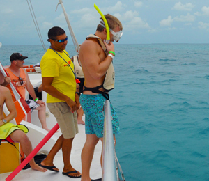 A Day of Snorkeling and Sailing in Key West